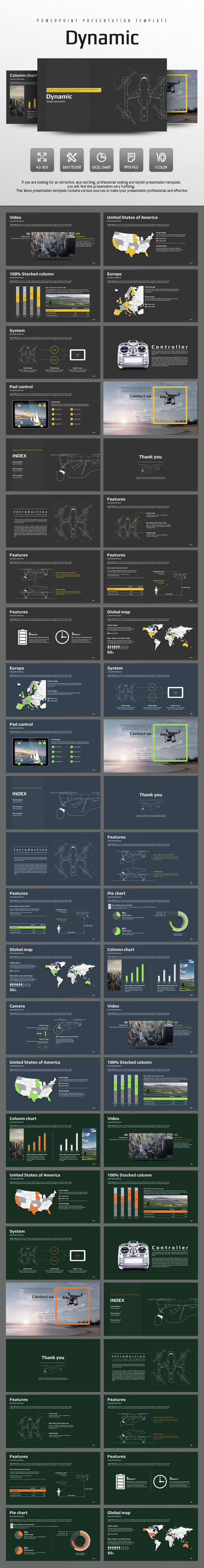 Dynamic - PowerPoint Templates Presentation Templates