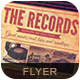 The Records Flyer Poster - GraphicRiver Item for Sale