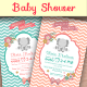 Baby Shower Template - Vol. 12 - GraphicRiver Item for Sale