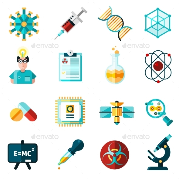 Science Icons Set  - Technology Icons