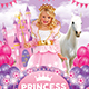 Princess Kids Party Flyer-Graphicriver中文最全的素材分享平台