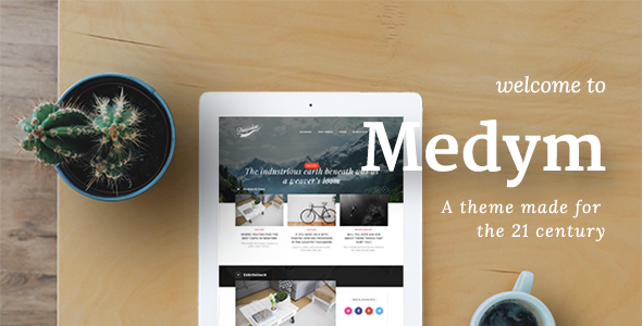 Medym – A Theme Made For The 21 Century