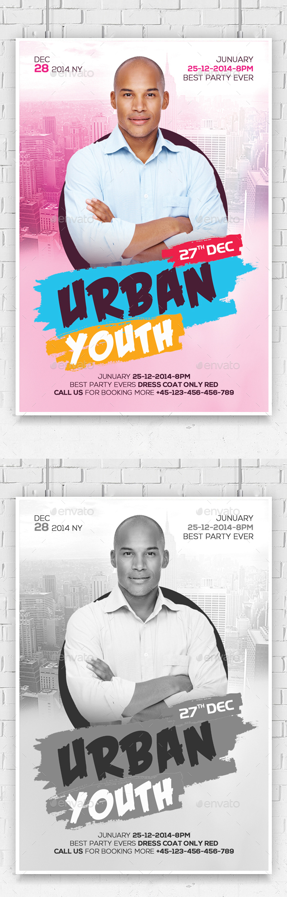 Urban Youth Leadership Conference Church Flyer - Church Flyers