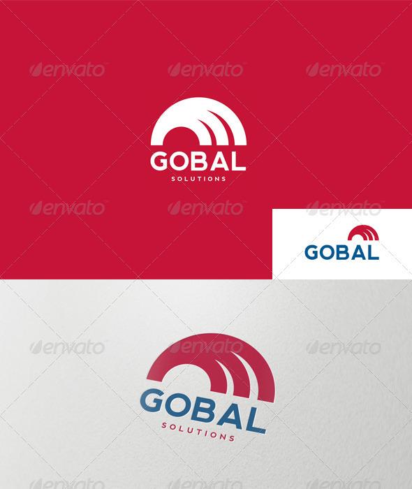 Abstract Semicircle Logo - Abstract Logo Templates