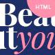Beauty, Hair & Spa Salon HTML Template Nulled