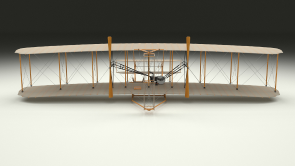 Rigged Wright Flyer - 3DOcean Item for Sale