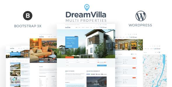 DreamVilla – Real Estate WordPress Theme