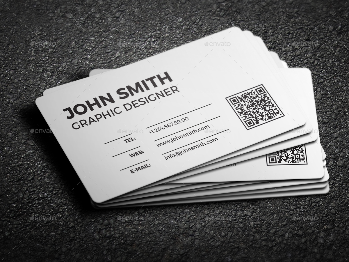 2 in 1 black white business card 59 by nazdrag graphicriver 01colorversion1g magicingreecefo Images