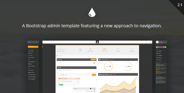 FreshUI - Premium Web App and Admin Template