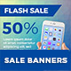 Flash Sale Web Banner - GraphicRiver Item for Sale