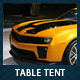 Car Dealer & Auto Services Table Tent - GraphicRiver Item for Sale