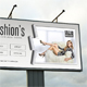 Beauty Fashion Outdoor Banner