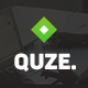 QUZE. — Business PSD Template Nulled