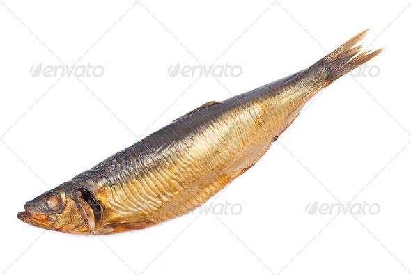 Smoked herring - Stock Photo - Images