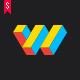 Webmaster • Letter W Logo Template - GraphicRiver Item for Sale
