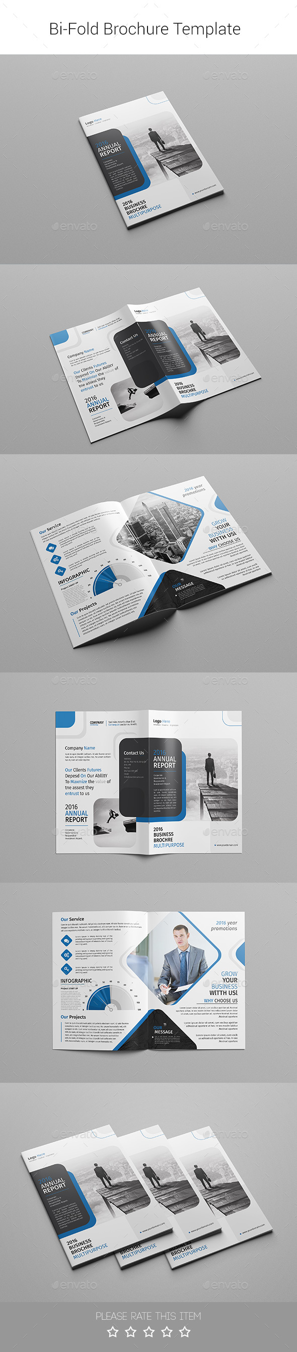 Corporate Bi-fold Brochure-Multipurpose 08 - Corporate Brochures