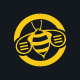 Bee Communication Logo Template - GraphicRiver Item for Sale