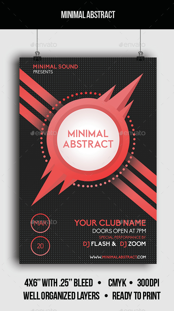 Minimal Abstract - Clubs & Parties Events