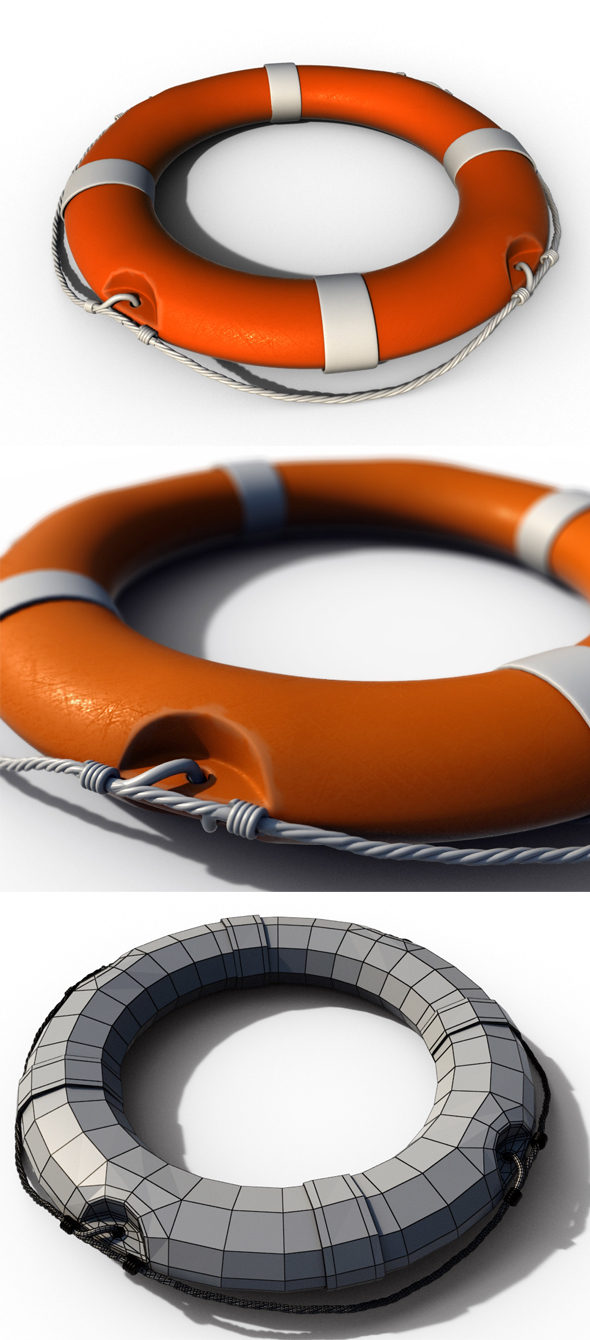Life Buoy - 3DOcean Item for Sale