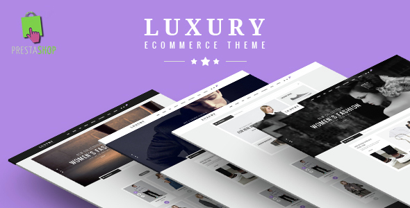 Image of Luxury Fashion eCommerce Responsive Prestashop Theme V1.6 & V1.7.1