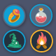 25 Gamification Icon Pack - GraphicRiver Item for Sale