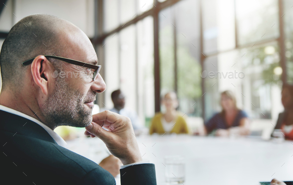 Business People Meeting Corporate Teamwork Collaboration Concept - Stock Photo - Images