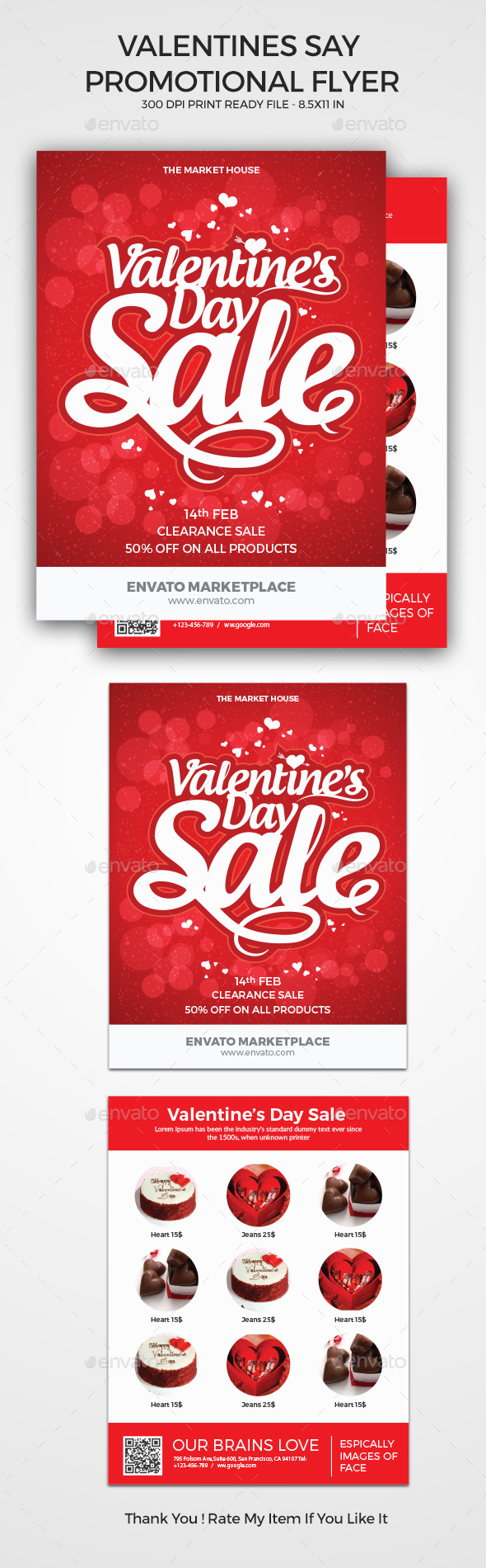 Valentine's Day Promotional Flyer - Events Flyers