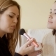 Beautiful Makeup Artist Working - VideoHive Item for Sale