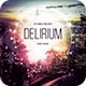 Delirium Flyer - GraphicRiver Item for Sale