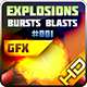 Explosions Blasts Bursts Detonations Fireballs 01 - GraphicRiver Item for Sale