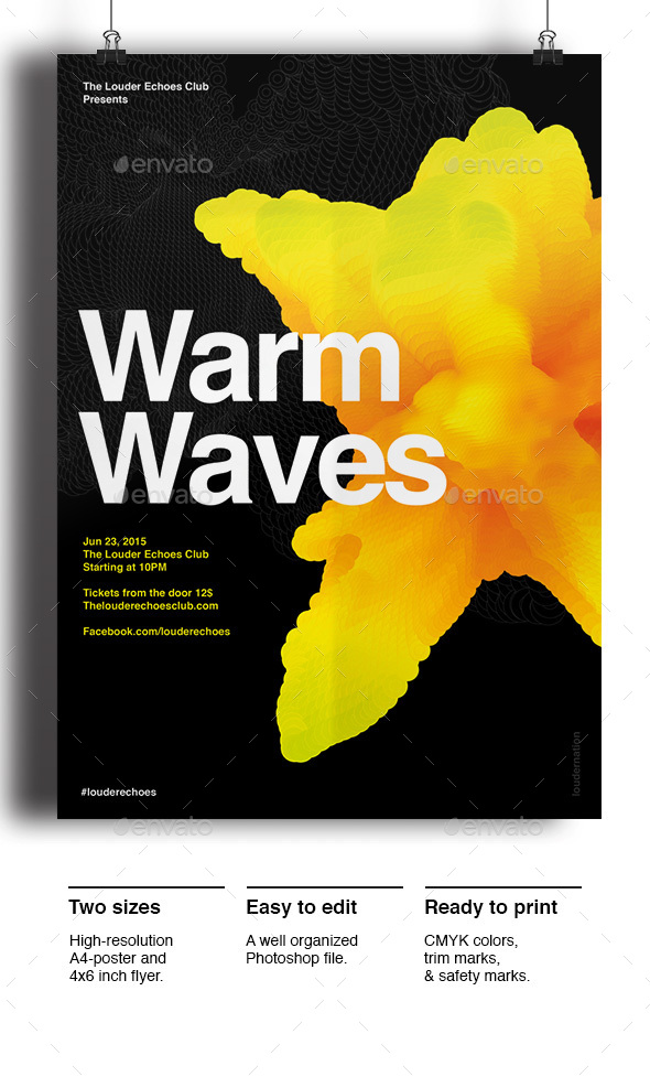 Warm Waves - Clubs & Parties Events