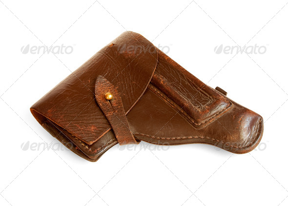 old holster - Stock Photo - Images