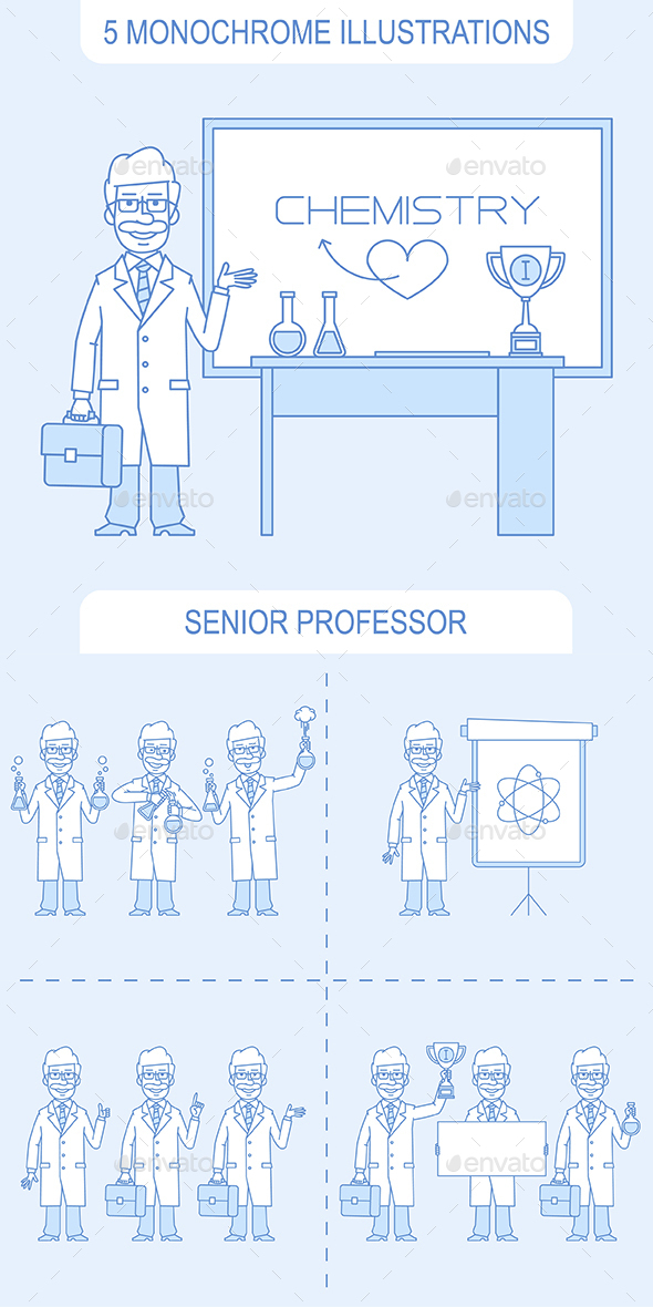 Senior Professor - People Characters