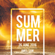 Summer Party Flyer Template - GraphicRiver Item for Sale