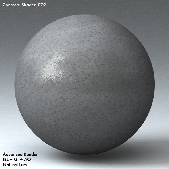 Concrete Shader_079 - 3DOcean Item for Sale