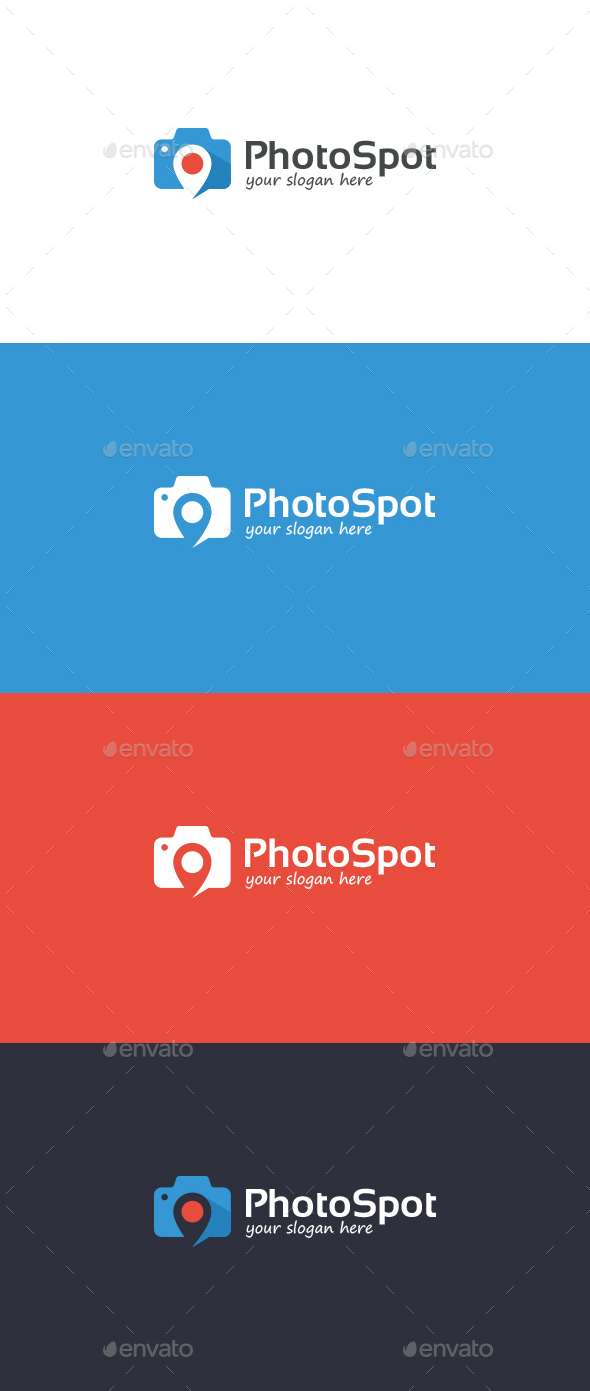 Photo Spot illustration - Symbols Logo Templates