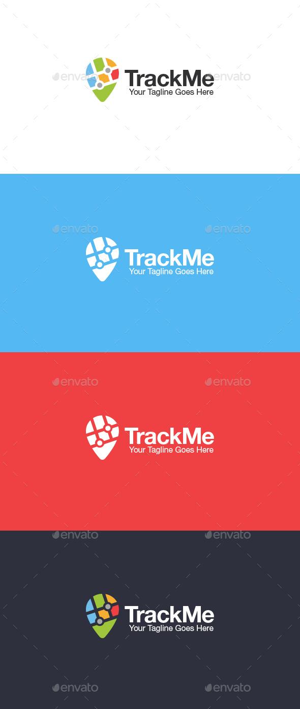 Track Me Logo - Symbols Logo Templates