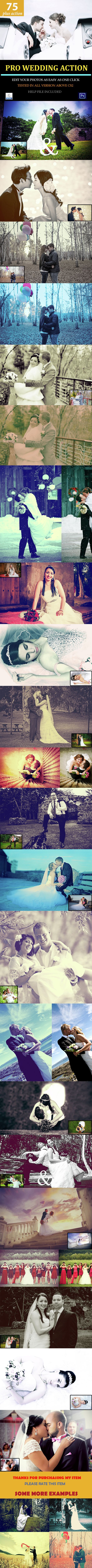 Pro Wedding Action Pack - Photo Effects Actions
