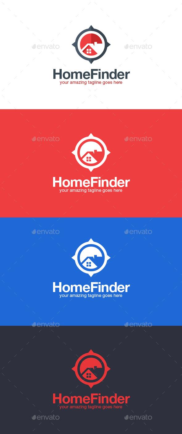 Real Estate Finder Logo Template - Symbols Logo Templates