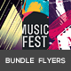 Abstract Party Flyers Bundle Vol1 - GraphicRiver Item for Sale