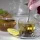 Transparent Cup Of Tea With Honey - VideoHive Item for Sale