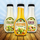 Salad Dressing Bottle Mock Up - GraphicRiver Item for Sale