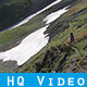 Backpacker Hiking in Nature - VideoHive Item for Sale