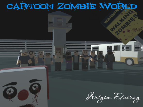 Cartoon Zombie World - 3DOcean Item for Sale