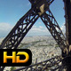 With Elevator to The Top of Eiffel Tower - Paris - VideoHive Item for Sale