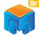 3D Media Logo