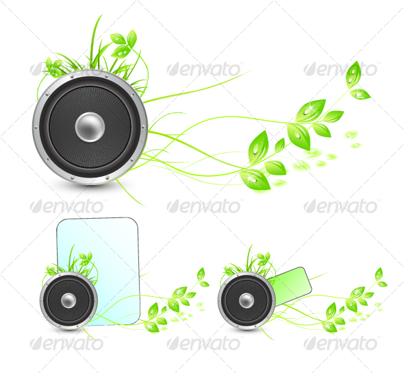 Sounds of nature. Environmental concepts - Nature Conceptual