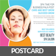 Spa Beauty Postcard Template - GraphicRiver Item for Sale