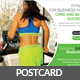 Fitness Postcard Template - GraphicRiver Item for Sale