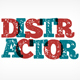 Distractor font - GraphicRiver Item for Sale